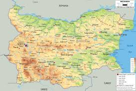 Europe Physical Map by Maps Of Bulgaria Detailed Map Of Bulgaria In English Tourist
