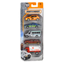 matchbox cars matchbox 5 car pack styles may vary walmart com