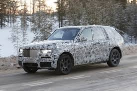2018 rolls royce cullinan spied once again looks massive