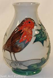 Moorcroft Clematis Vase Just Art Pottery From Just Art Pottery