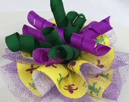 mardi gras ribbon 1 5 mardi gras ribbon rg01618wy purple gold green