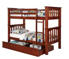 berkley jensen twin size bunk bed with trundle bj u0027s wholesale club