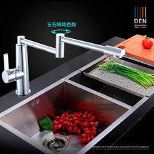 kalte k che voller kupfer heiße und kalte küche klapp wasserhahn universal in