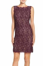 purple adrianna papell dresses nordstrom