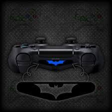 ps4 controller white light 2x playstation 4 ps4 controller light bar batman vinyl decal sticker