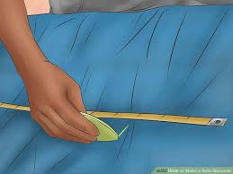 How To Make Slipcovers For Couches How To Make A Sofa Slipcover With Pictures Wikihow