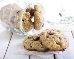 cuisiner flocon d avoine recette cookies aux flocons d avoine et cranberries séchées