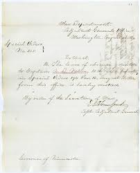 special order revoking leave and report of sick u2013 august 25 1862