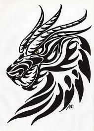 dragon head tattoo dragon tattoos designs idea dragonthing stencil