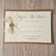 wedding save the date postcards vintage lace and wedding save the date cards vintage twee