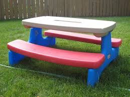 incredible kids folding picnic table lifetime kids folding picnic