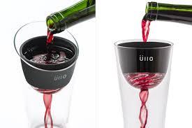 cool glassware üllo wine purifier cool hunting