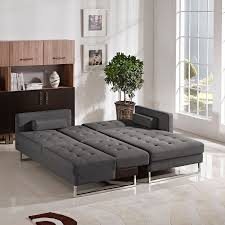 Grey Leather Tufted Sofa by Sofa Leather Sectional Recliner Tufted Sectional Sofa