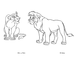 lion king 2 coloring pages funycoloring