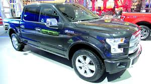 Ford Truck Interior 2015 Ford F150 Platinum Exterior And Interior Walkaround Debut