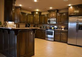 contemporary dark maple cabinets stain colors cabinets creme