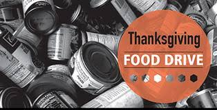 thanksgiving food drive 2017 volunteer opportunities