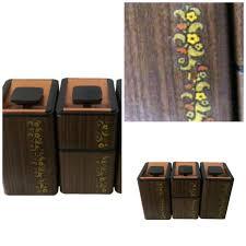 vintage canister set mid century set of 4 kromex aluminum