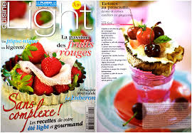 de cuisine light another adventure with cuisine light magazine and a cover la