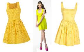 yellow dress yellow dress for 2016 2017 fashion gossip