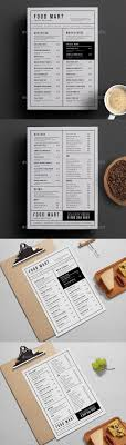 photoshop menu template simple restaurant menu menu steak and photoshop