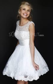 brautkleider fã r standesamt verlobungskleider weiße kurze brautkleider elegante spitze
