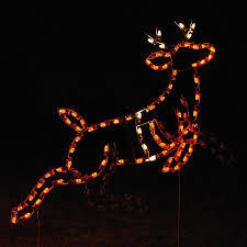 Outdoor Christmas Decor Reindeer by Shop Holiday Lighting Specialists 4 67 Ft Animated Reindeer
