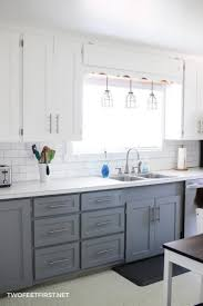 painting kitchen cabinet doors diy update kitchen cabinets without replacing them by adding trim