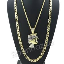 big rope necklace images Iced out big lil uzi cartoon pave rope chain diamond cut cuban jpg