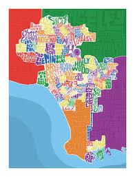 los angeles suburbs map los angeles neighborhood type map i lost my
