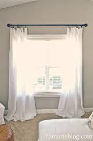 Floor Length Curtains Diy Floor Length Curtains Liz