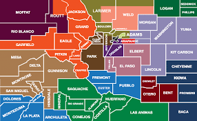 service area map by county colorado community college system