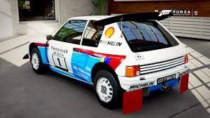 peugeot 205 t16 you can now finally get the rally bodykit for the 205 t16 forza