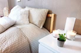 chambre coconing décoration d une chambre cocooning une chambre en camaieu de blancs