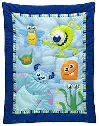 Disney Nursery Bedding Sets by Monsters On The Go 3 Piece Crib Bedding Set Disney Baby