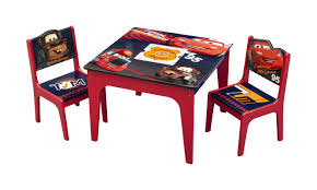 Table And Chair Sets Delta Children Cars Kids 3 Piece Table And Chair Set U0026 Reviews
