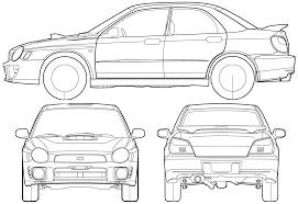 4 door jeep drawing car subaru impreza 4 door 2000 the photo thumbnail image of