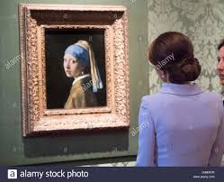 vermeer earring the duchess of cambridge views girl with a pearl earring by