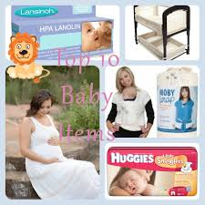 Top 10 Must Baby Items by 10 Must Newborn Baby Items