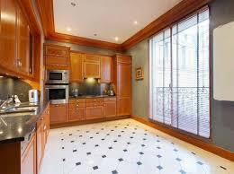 cuisine appartement parisien immobilier de luxe avec vue sur la tour eiffel vivons maison