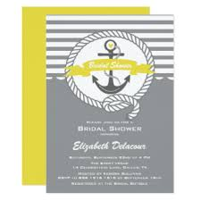 Bridal Shower Invite Wording Nautical Bridal Shower Invitations Wording Ivelfm Com House