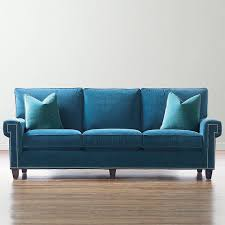 Teal Color Sofa by Sofas And Couches Handmade By Bassett Furniture