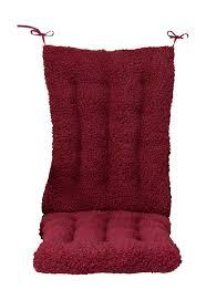 Rocking Chair Pads Walmart Amazon Com Walterdrake Sherpa Rocking Chair Cushion Set By