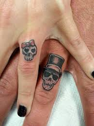 the 25 best wedding band tattoo ideas on pinterest wedding