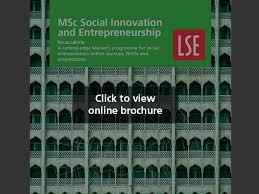 si e social but msc social innovation and entrepreneurship