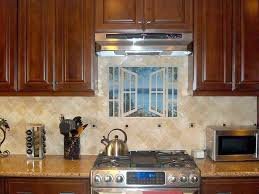 kitchen mural backsplash awesome kitchen tile mural this kitchen backsplash project is