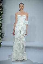 dennis basso wedding dresses dennis basso wedding dresses 2015 feature cascading ruffles for