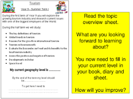 tourism lesson 1 introduction by sghorn teaching resources tes