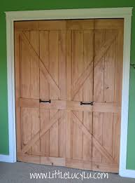 barn style closet doors home design ideas