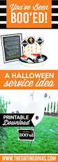 Halloween Boo Bag Poem 8 You U0027ve Been Boo U0027d Printables Tip Junkie